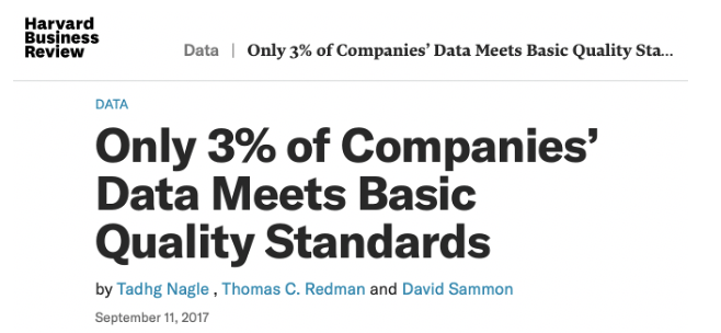 Data Quality Quote